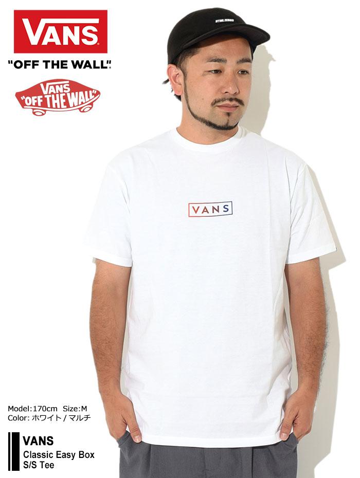 VANSバンズのTシャツ Classic Easy Box01