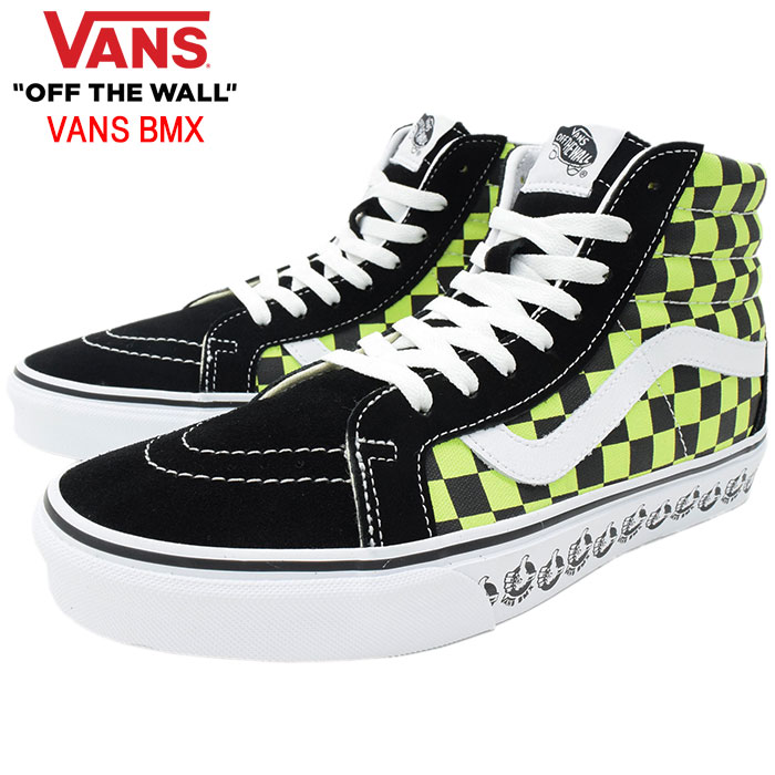 VANSバンズのスニーカー スケートハイ01