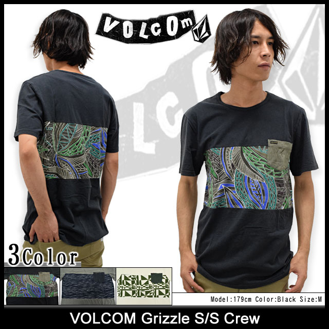 VOLCOMボルコムのカットソー Grizzle01