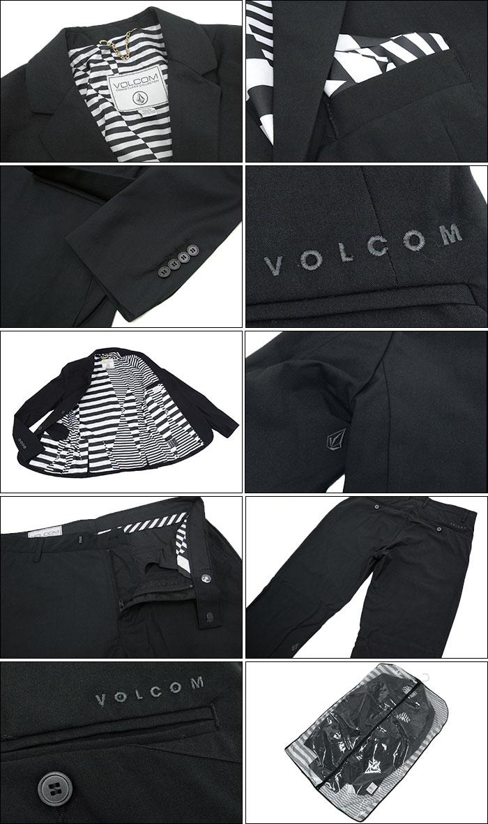 VOLCOMボルコムのジャケット Dapper Stone Suit08
