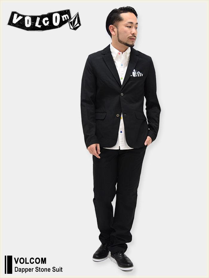 VOLCOMボルコムのジャケット Dapper Stone Suit01