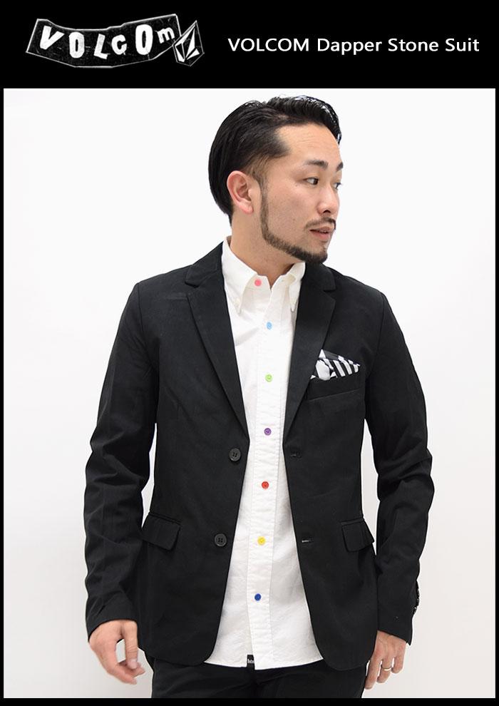 VOLCOMボルコムのジャケット Dapper Stone Suit03