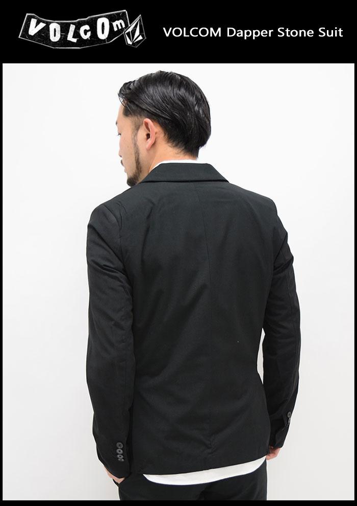 VOLCOMボルコムのジャケット Dapper Stone Suit05