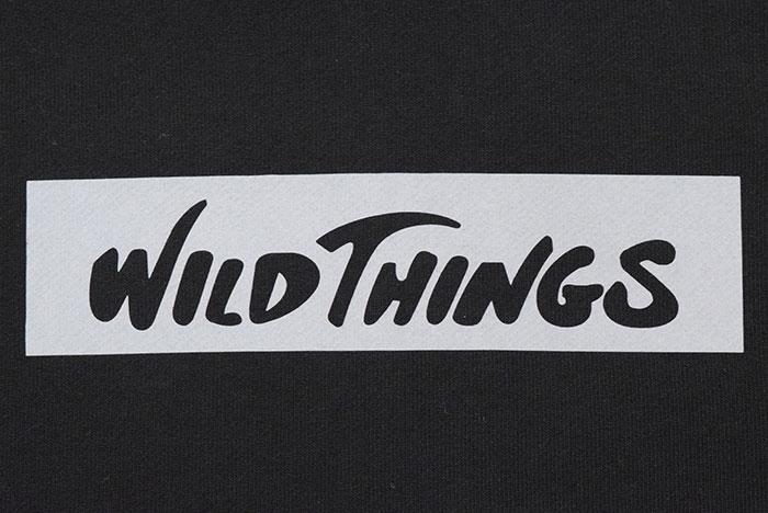 WILD THINGSワイルドシングスのパーカー Logo Sweat Hoodie07