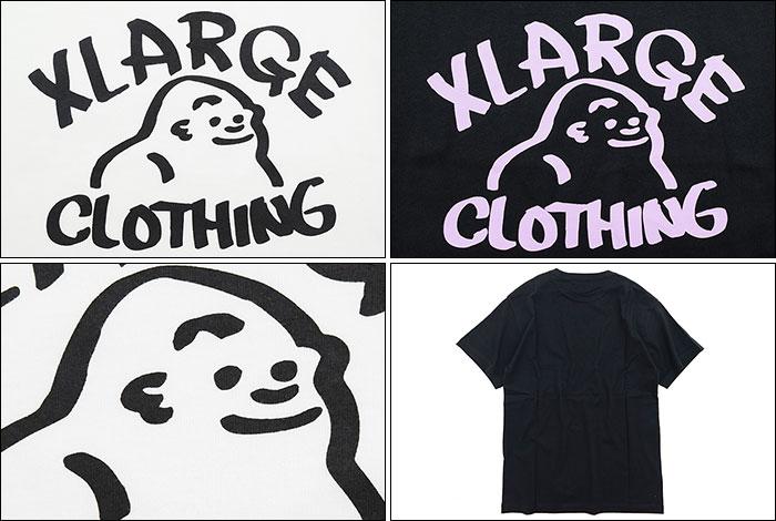 X-LARGEエクストララージのTシャツ Drawing OG03