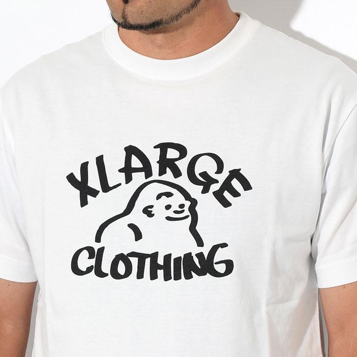 X-LARGEエクストララージのTシャツ Drawing OG02