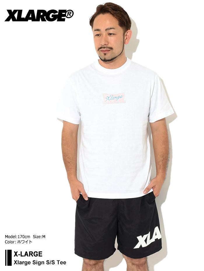X-LARGEエクストララージのTシャツ Xlarge Sign01