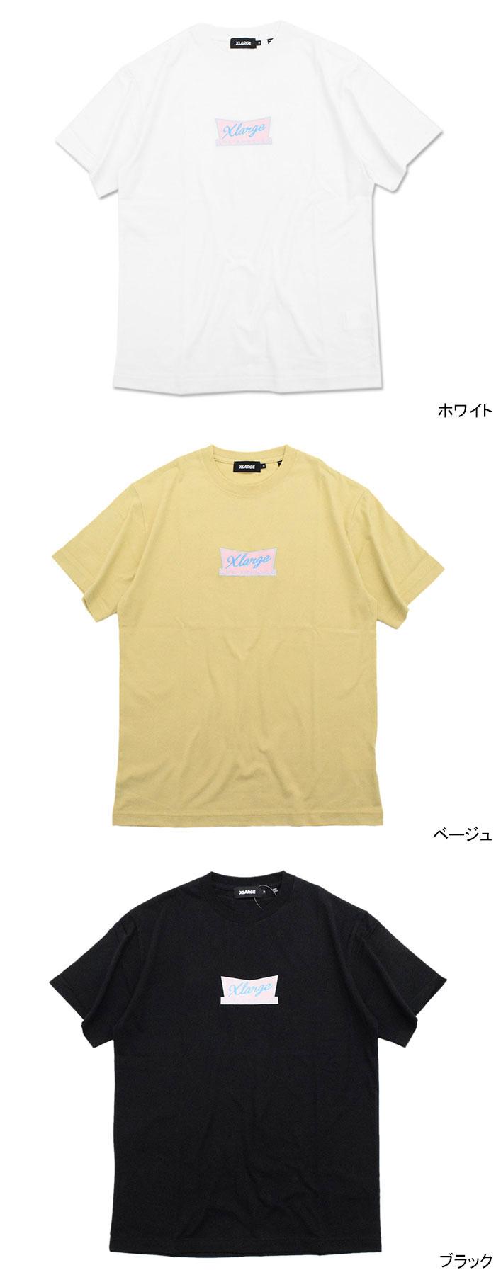 X-LARGEエクストララージのTシャツ Xlarge Sign03