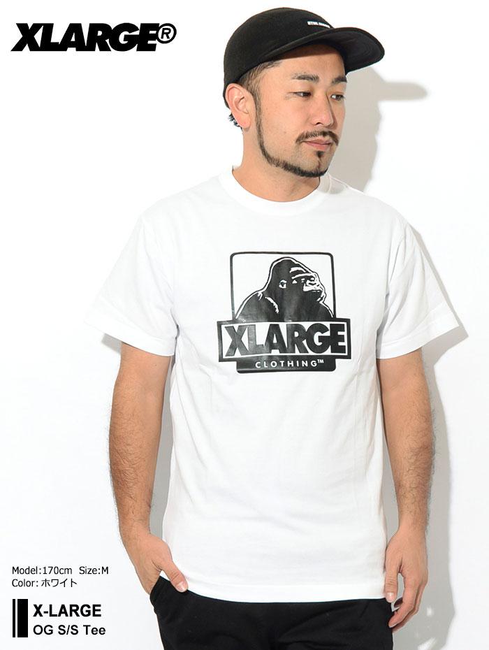 X-LARGEエクストララージのTシャツ OG01