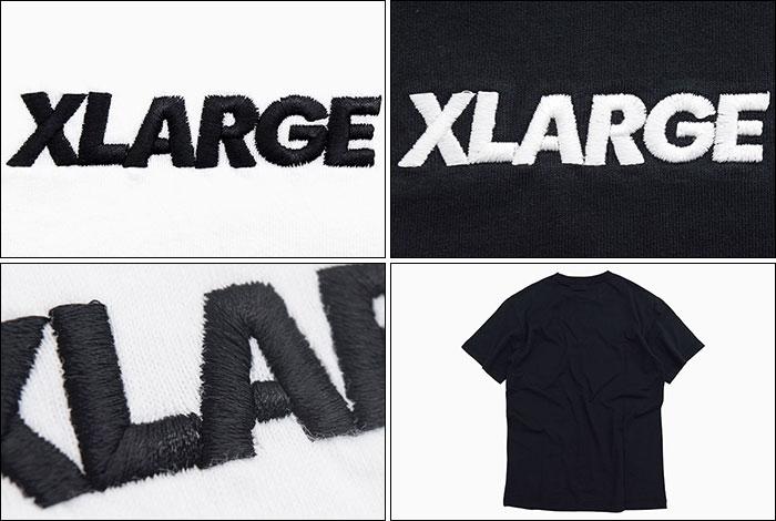 X-LARGEエクストララージのTシャツ 19FA Embroidery Standard Logo03