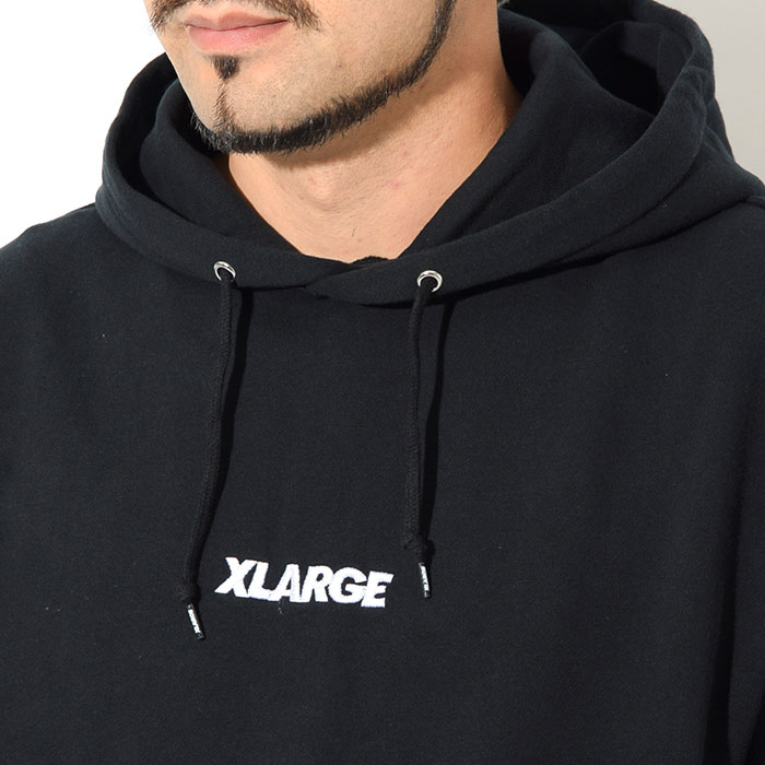 X-LARGEエクストララージのパーカー Embroidery Standard Logo Pullover Hoodie02