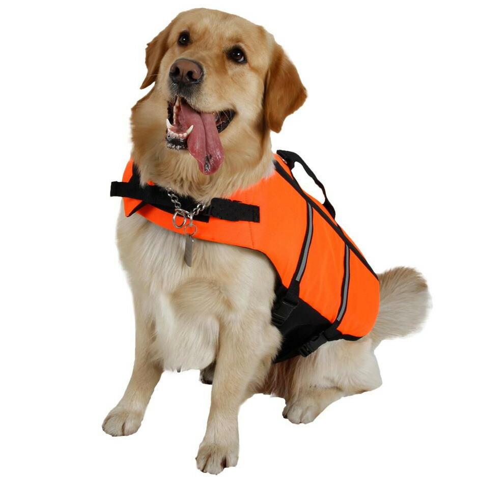 犬用ライフジャケット