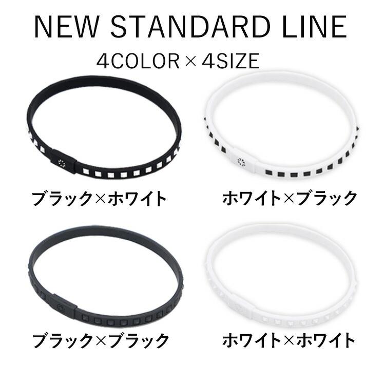 バンデル ブレスレット スタッズ ライン BANDEL studs line bracelet ブラック×ホワイト ホワイト×ブラック ブラック×ブラック ホワイト×ホワイト