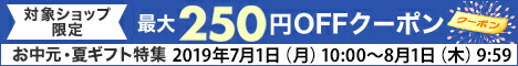 お中元最大250円OFFクーポン
