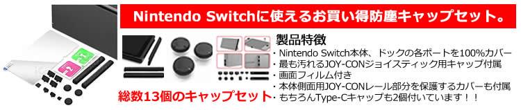 Switchを埃から守る