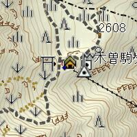 山小屋300m