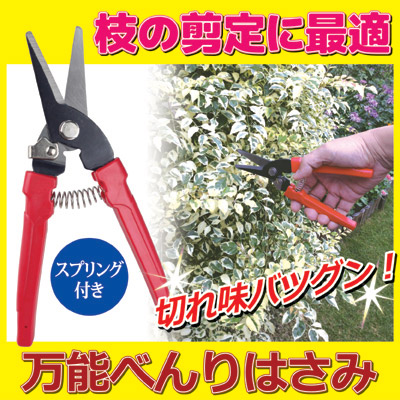 枝の剪定に最適 万能べんりはさみ