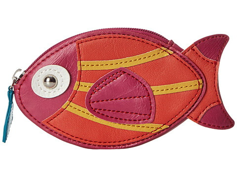 とても人気の愛らしいお魚(サーモン)の小銭入れ
