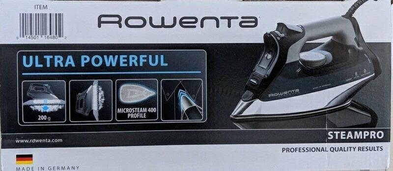 ROWENTA DW8194 スチームアイロン