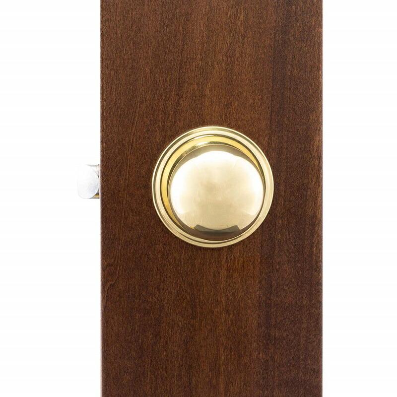 Copper Creek ノブセット ポリッシュドブラス 真鍮 ゴールド