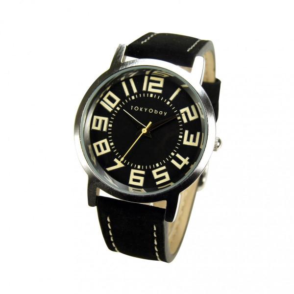 【 トーキョーベイ 】 TOKYObay レディース 腕時計 スタンダード アナログウォッチ T155 ラージ トラック