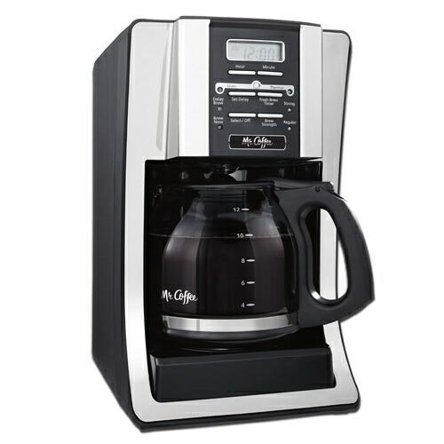 Mr. Coffee コーヒーメーカー 12カップ プログラマブル BVMC-SJX33GT