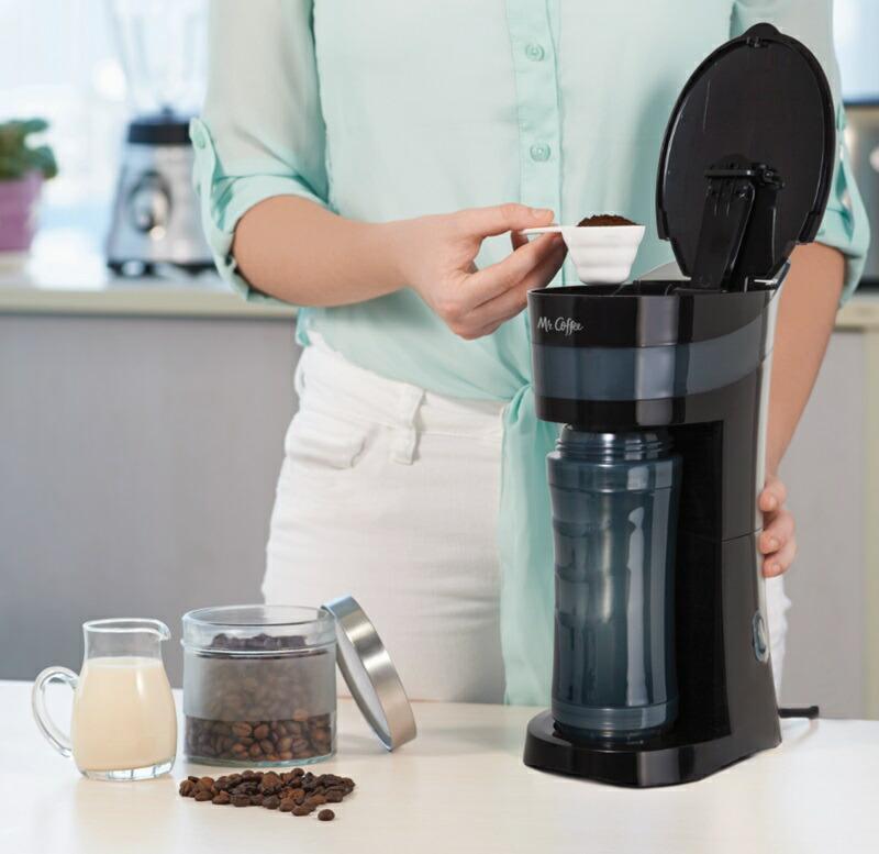 パーソナル コーヒーメーカー ミスターコーヒー BVMC-MLBL