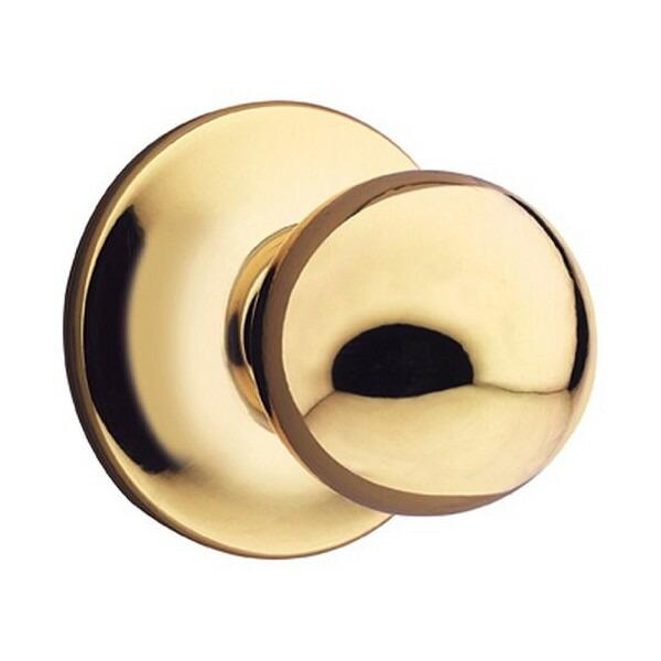 クイックセット Kwikset 製ノブセット ポリッシュドブラス 真鍮 ゴールド