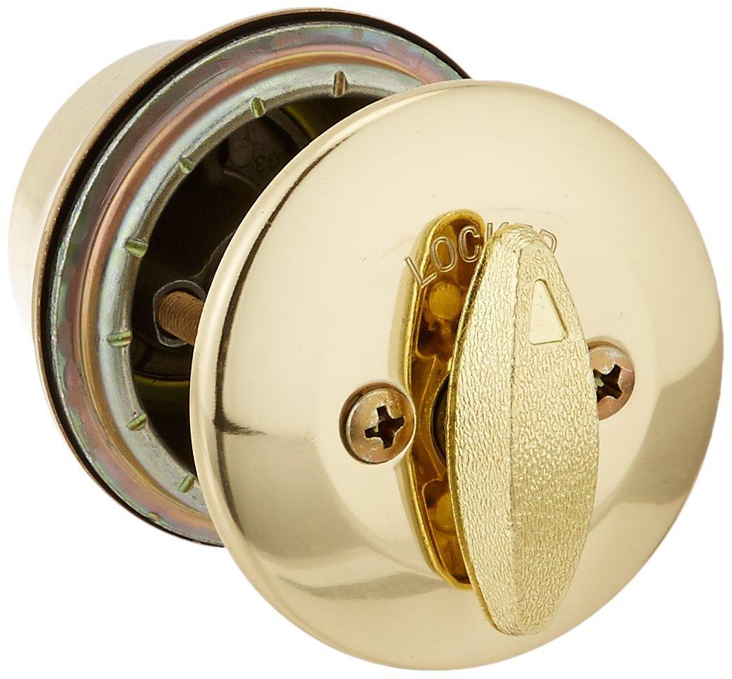 クイックセット Kwikset製 ドアノブセット 真鍮ゴールド