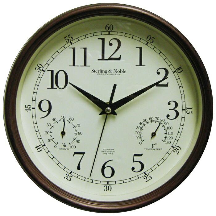 素朴な アンティーク風 フレーム 時計