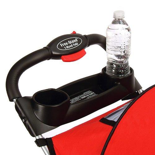 Kolcraft Cloud Sport Lightweight Stroller, Fire Red