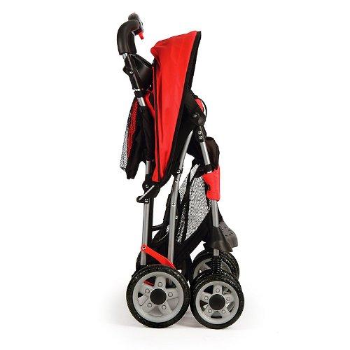 Kolcraft Cloud Sport Lightweight Stroller, Fuchsia
