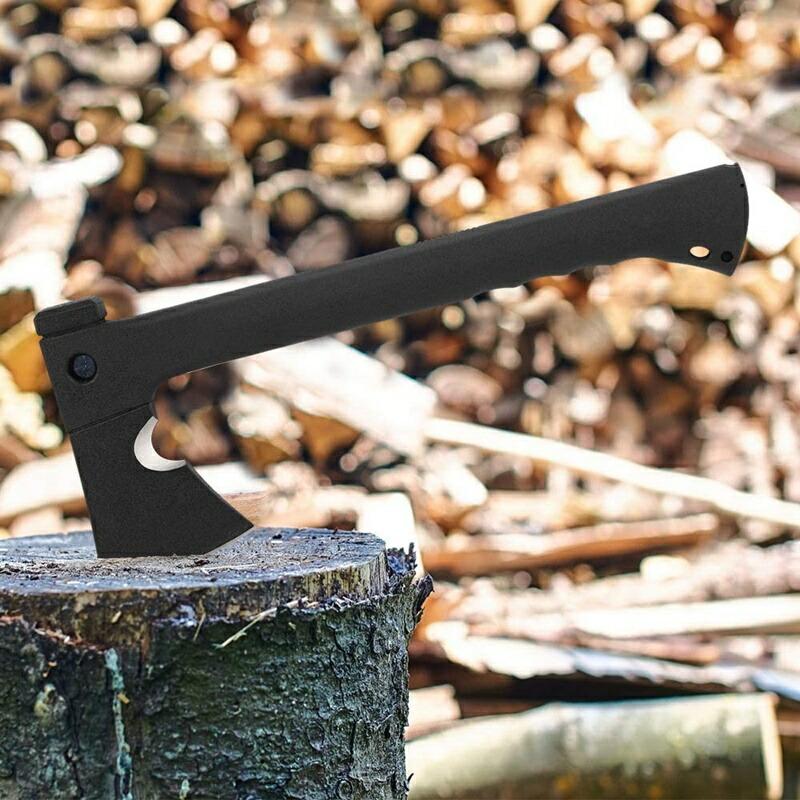 アウトドア キャンプ 斧とのこぎり