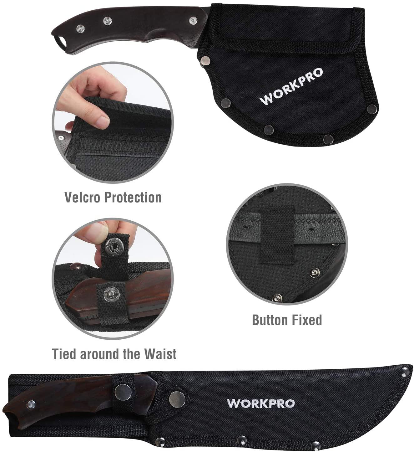 アウトドア キャンプ サバイバル スチール製 斧とナイフ