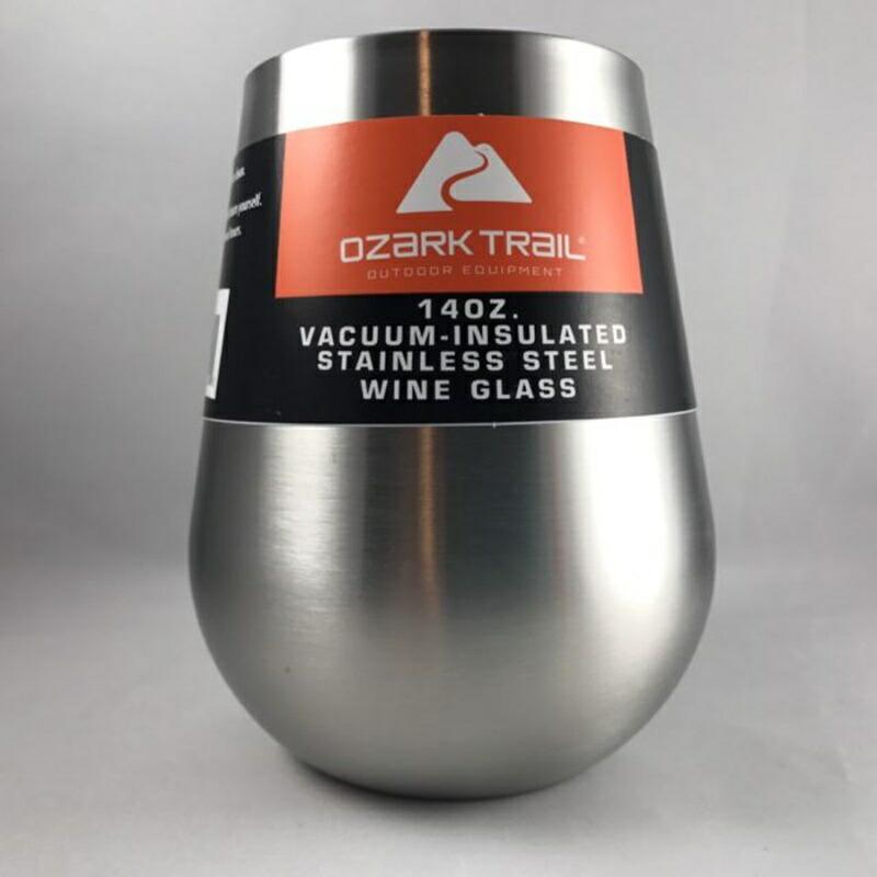 ステンレス 二重壁 真空 断熱 ワイングラス