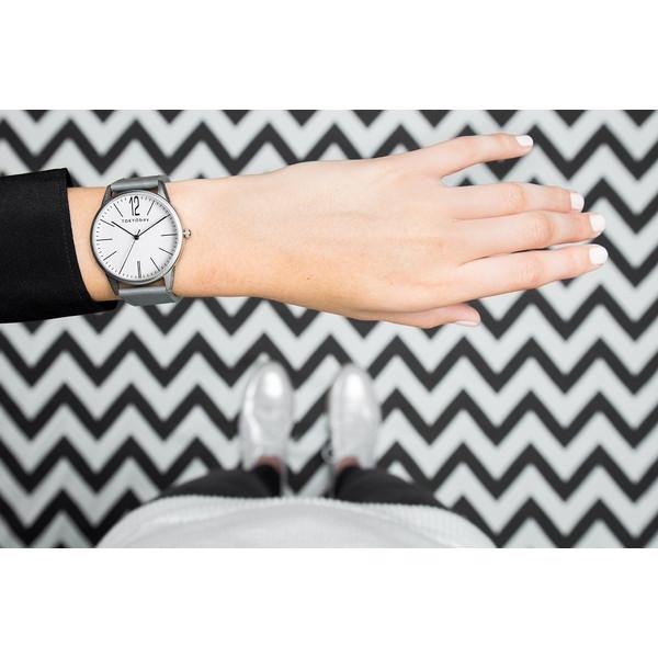 トーキョーベイ TOKYObay レディース メンズ 婦人 腕時計 Jones ジョーンズ (グレイ)