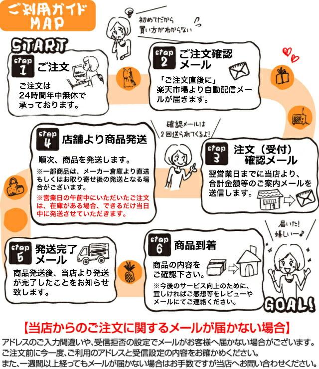 IDE SHOKAI ONLINE 楽天市場店 ご注文からお届けまでの流れ
