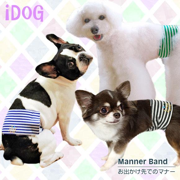 マーキング防止 マナーベルト 犬 服 iDog マナーバンド ボーダーキング アイドッグ 犬の服 犬服