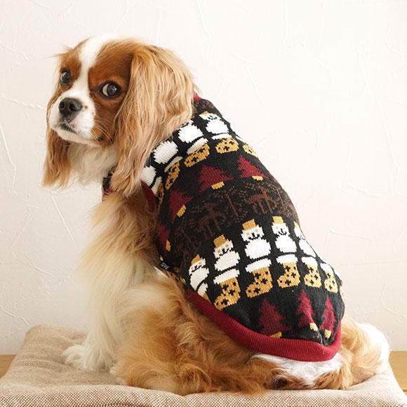 【犬服 タンク】 iDog ウィンターニットタンク アイドッグ【秋物】【冬物】[iCat【猫首輪&猫グッズ】]