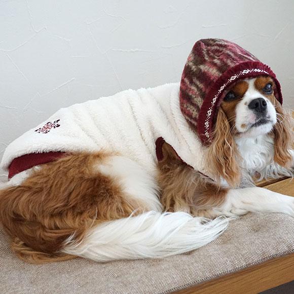 【犬服】 iDog ふんわりマーブルフードパーカー アイドッグ【秋物】【冬物】[iCat【猫首輪&猫グッズ】]