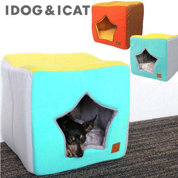 犬 猫 ペット iDog スターキューブ アイドッグ ベッド クッション ハウス
