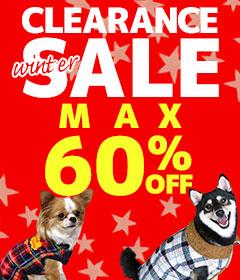 クリアランスセール|犬の服のiDog&iCat