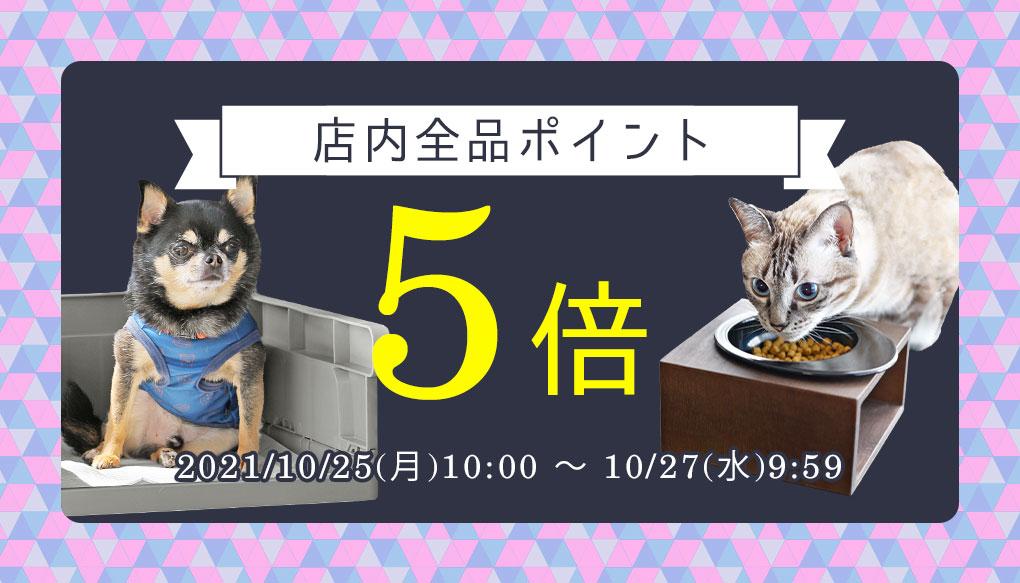 【楽天市場】店内ポイント5倍キャンペーン