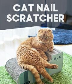 【楽天市場】猫のつめとぎ(キャットスクラッチャー ダンボールポール 麻):iCat【猫首輪&猫グッズ】