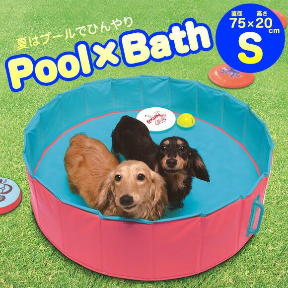 犬 猫 ペット スーパーキャット/Pool×Bath プールバイバース/S 暑さ対策 冷感グッズ 熱中症予防 冷却 ひんやり