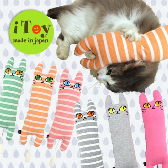 犬 猫 ペット iDog&iCat iToy アイトイ ユキちゃんの仲間たち おもちゃ 国産 布製 猫のおもちゃ キック
