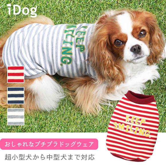 犬 服 iDog ボーダーロゴタンク アイドッグ 犬の服 犬服