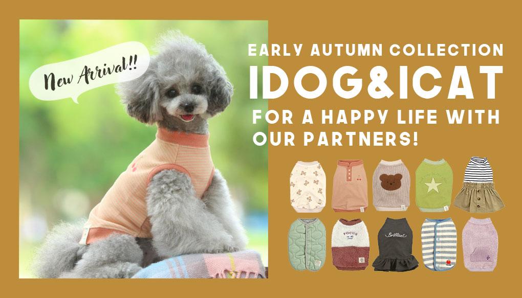 新作2020SSウェア|犬の服のiDog&iCat