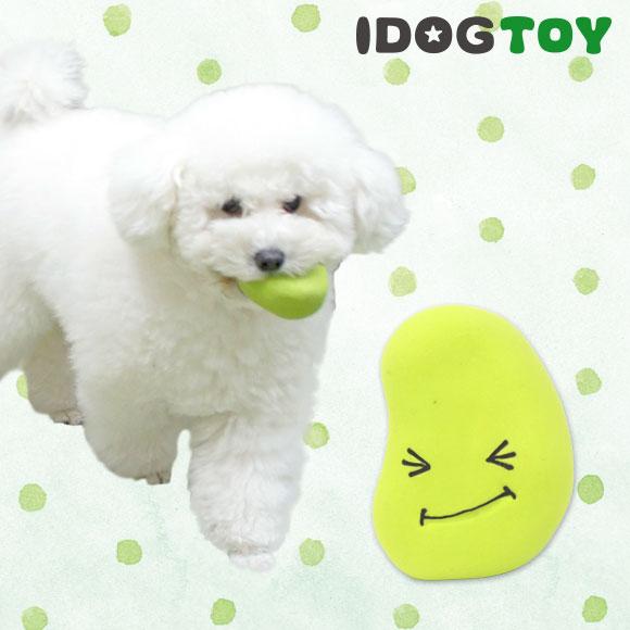 犬 おもちゃ iDog&iCat オリジナルラテックスTOY はじけるそらマメ ラテックス ゴム ラバー 犬のおもちゃ