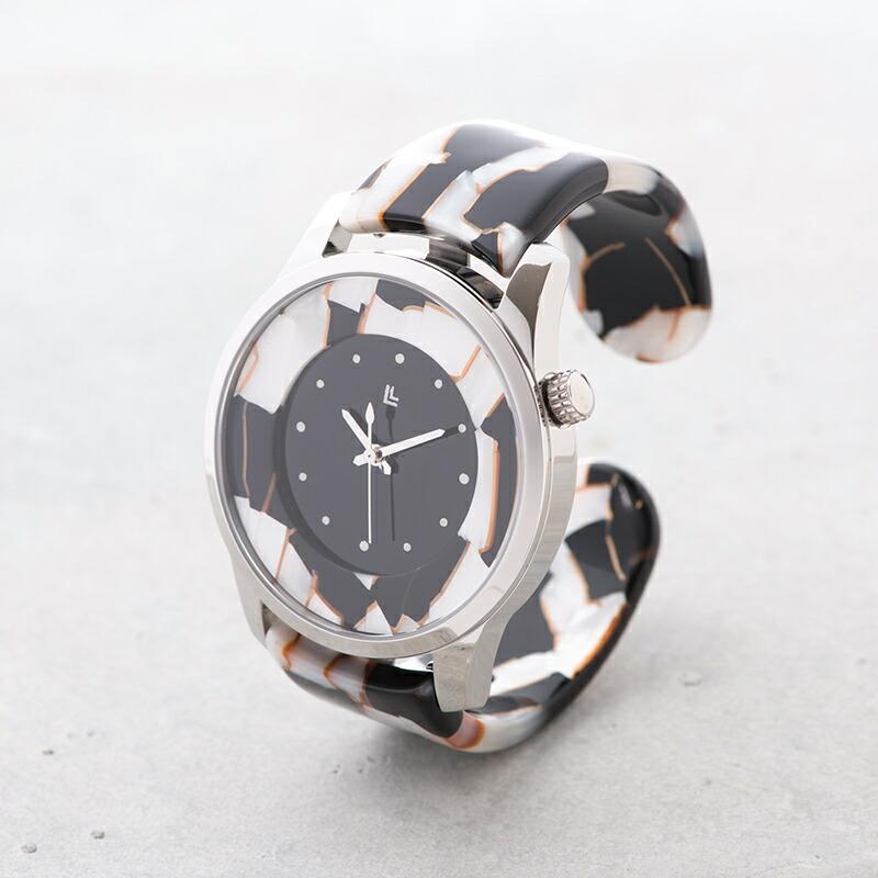 e4d097c3f5 IGATTA COLLETTI バングルウォッチ 腕時計 メンズ ブルーモザイク ブルーモザイク ホワイトモザイク